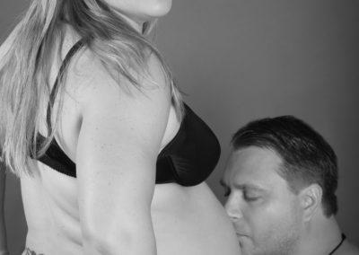 gravid fotografering mage blå lysterart.com