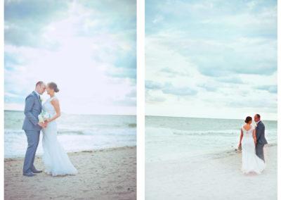 strand bröllop fotografering lysterart.com