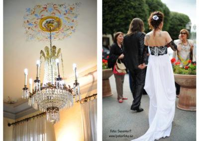 bröllops fotografering kristallkrona lysterart.com