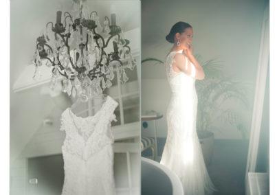 spegel o klänning bröllopsfoto lysterart.com