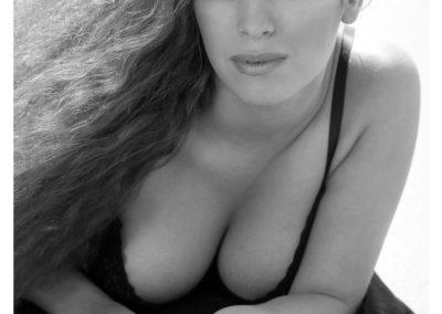 svartvit bikinifoto lysterart.com