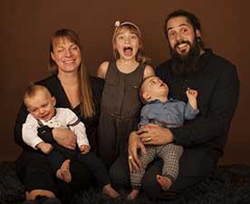 tvillingar familjefotografering skåne