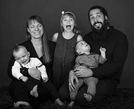 tvilling familjefotografering skåne